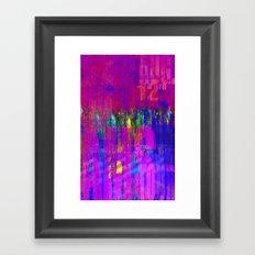 Acid City  Framed Art Print