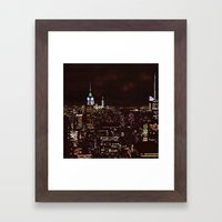 New York Perspective Framed Art Print