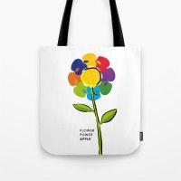 Flower Power IPhone 4 5 … Tote Bag