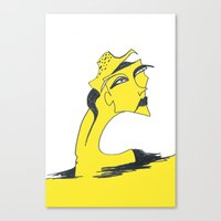 I Am Lemon Girl Canvas Print