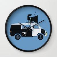 The Blues Brothers' Van Wall Clock