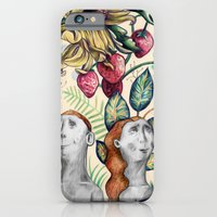 iPhone & iPod Case featuring And Eve by Fiona Rose