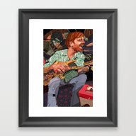 DAN Framed Art Print
