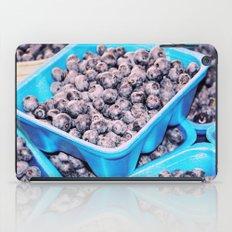 Blueberries fare iPad Case