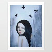 Fall or Fly Art Print