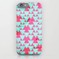 Watercolor Triangle Part… iPhone 6 Slim Case