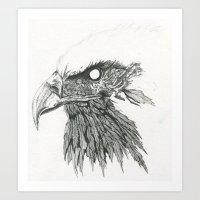 Raptor Art Print