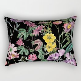Rectangular Pillow - NIGHT FOREST XIV - Burcu Korkmazyurek