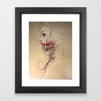 Perfectly Fine Framed Art Print