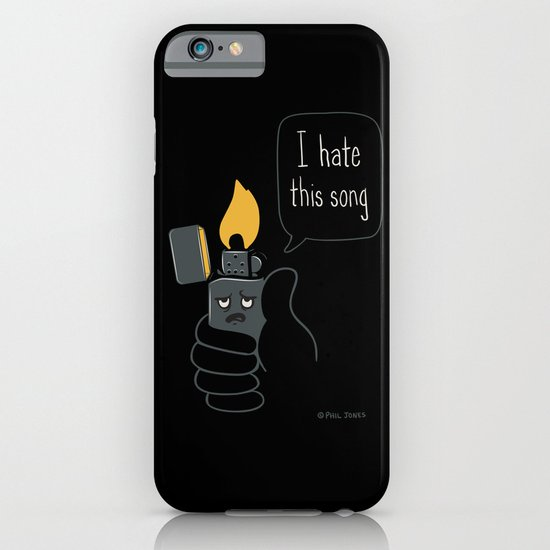 Mad Music Lighter iPhone & iPod Case