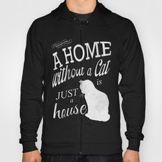 Home with Cat Hoody