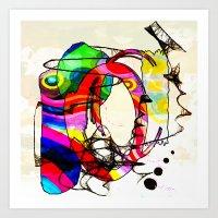 Coco Loco Art Print