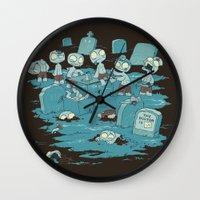 The Body Shop Wall Clock