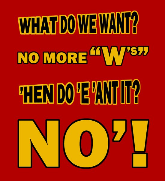WHAT DO WE WANT? Art Print