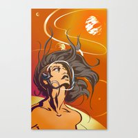 The New Frontier Canvas Print