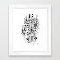 UNREAL 7 Framed Art Print