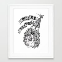 WSDR Framed Art Print