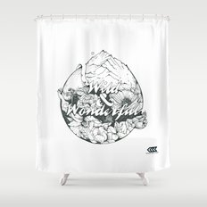 wild & wonderful Shower Curtain
