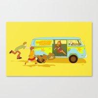 Little Mystery Machine Canvas Print