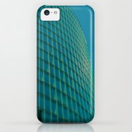 Teal Blue Abstract iPhone 5c Slim Case