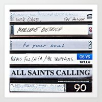 All Saints Calling  Art Print