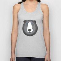 Forest Friends: Bear Unisex Tank Top