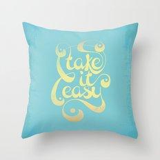 Take It Easy Throw Pillow