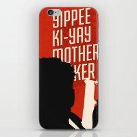 Yipe Ki-Yay iPhone & iPod Skin