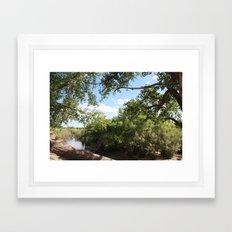 By The Stream Framed Art Print