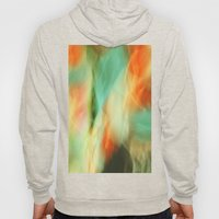Abstract Art II Blue/Black/Green/Red Hoody