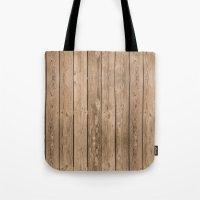 Wood I Tote Bag