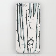 Ghost in the Woods iPhone & iPod Skin