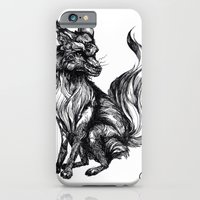 iPhone & iPod Case featuring Foxy Two by The Headless Fish