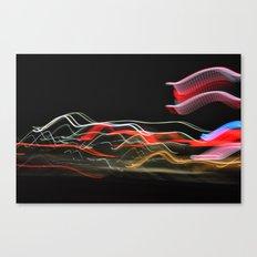 Traveling Lights Series No.8 Canvas Print