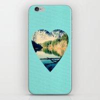 Lost Lake Love iPhone & iPod Skin
