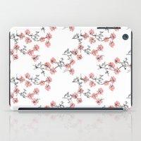 X Flowers iPad Case