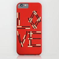 iPhone & iPod Case featuring love by creaziz