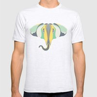 Elephant Gun Mens Fitted Tee Ash Grey SMALL