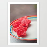 Watermellon Art Print