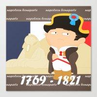 Napoleon Bonaparte Canvas Print