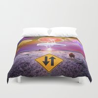 The Day of the Jellies Duvet Cover