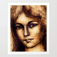 Antiqued Art Print