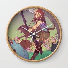 A Survivor is Born Wall Clock