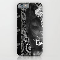 Crow And Lace iPhone 6 Slim Case