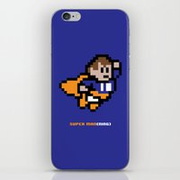 8-Bit: Super Man(ning) iPhone & iPod Skin