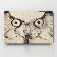Deconstructed Owl Face iPad Case