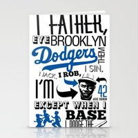 JACKIE ROBINSON Stationery Cards