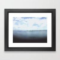 Surface Level . I Framed Art Print