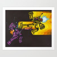 Battle Without Honor Or … Art Print