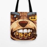 Bo: Plushy Gangsta Close… Tote Bag